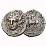 продать серебряные Греческие монеты