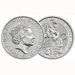 продать серебряные Монеты Elizabeth 2