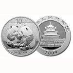 продать серебряные Монеты Панда