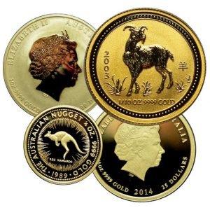 продать золотые монеты Елизаветы 2