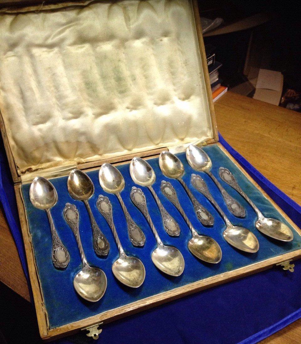 продать столовое серебро 84