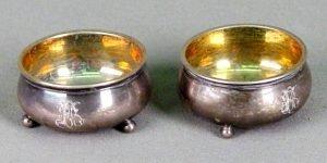 продать Солонка серебро 84