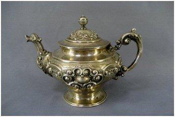 Продать антикварное серебро