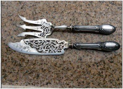 Продать серебряные вилки 84 пробы
