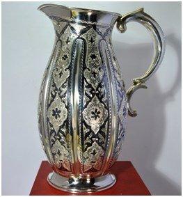 Продать серебряный кувшин Кубачи