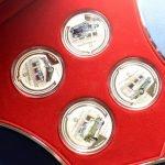 Набор серебряных монет Газ. Ниуэ