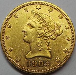Продать Золотую монету Американский Орел. США