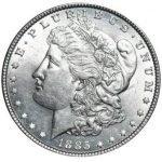 продать Доллар Моргана 1885