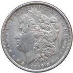 продать Доллар Моргана 1889