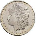продать Доллар Моргана 1891