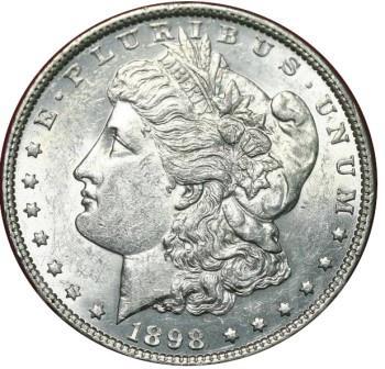 продать Доллар Моргана 1898