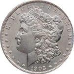 продать Доллар Моргана 1903
