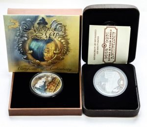 Серебряные 1 доллар и 50 центов Австралии
