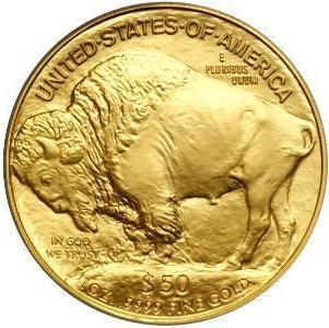 золотая монета Буффало