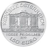 1,5 евро Филармоникер серебро