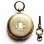 Карманные часы Brenets. Золото 56 пробы
