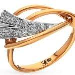 Кольцо женские с бриллиантами