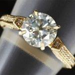 Продать кольцо с бриллиантом